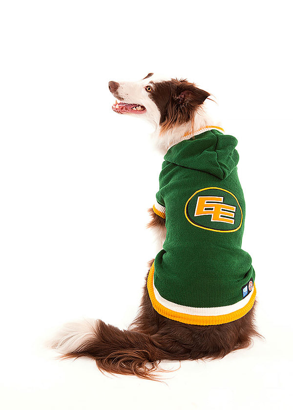 Edmonton Eskimos CFL Hooded Dog Sweater