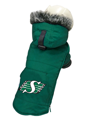 Saskatchewan Roughriders CFL Dog Jacket