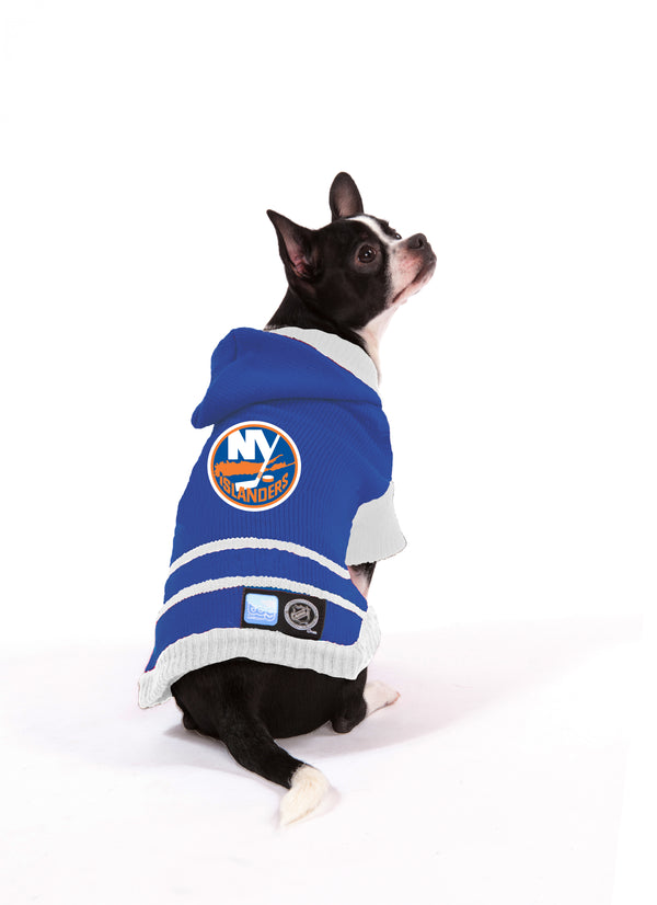 New York Islanders NHL Hooded Dog Sweater