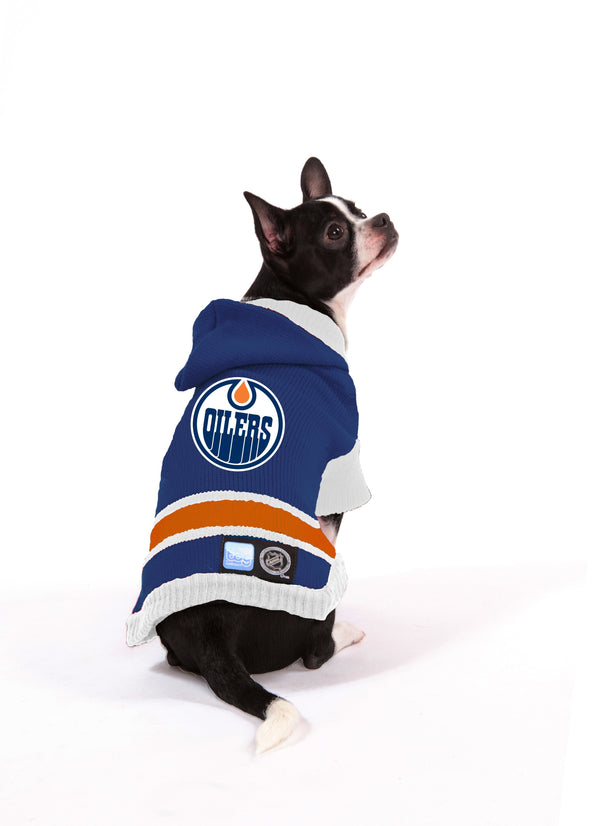 Edmonton Oilers NHL Hooded Dog Sweater