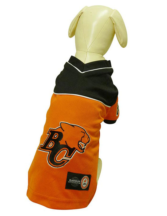 BC Lions CFL Dog Jersey