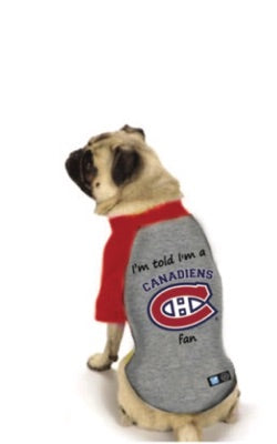 Montreal Canadiens NHL Dog Fan Shirt