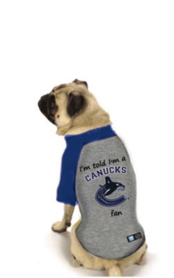 Vancouver Canucks NHL Dog  Fan Shirt