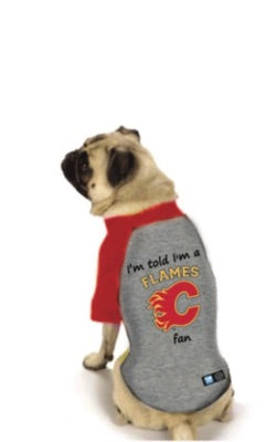 Calgary Flames NHL Dog Fan Shirt