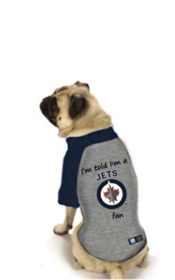 Winnipeg Jets NHL Dog Fan Shirt