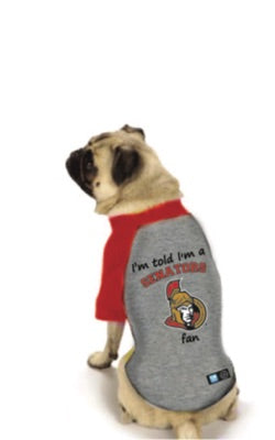 Ottawa Senators NHL Dog  Fan Shirt