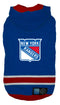 New York Rangers NHL Dog Sweater