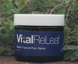 VitalReLeaf™ Topical Pain Salve 2 oz - 1000mg