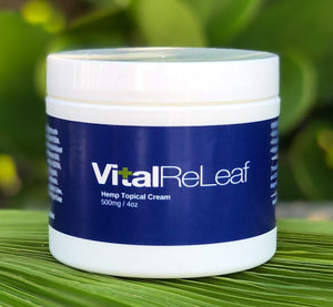 VitalReLeaf™ Topical Menthol Cream 4 oz - 500mg