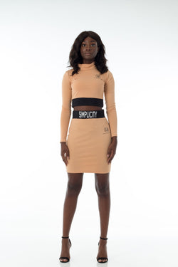 Simplicity Camel Two Piece (Full)