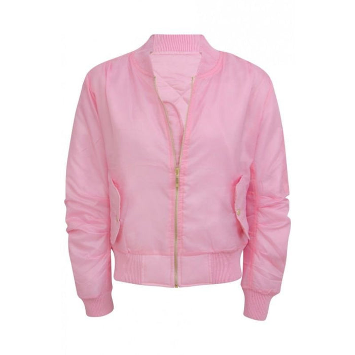 Bomber Jacket / Baby Pink