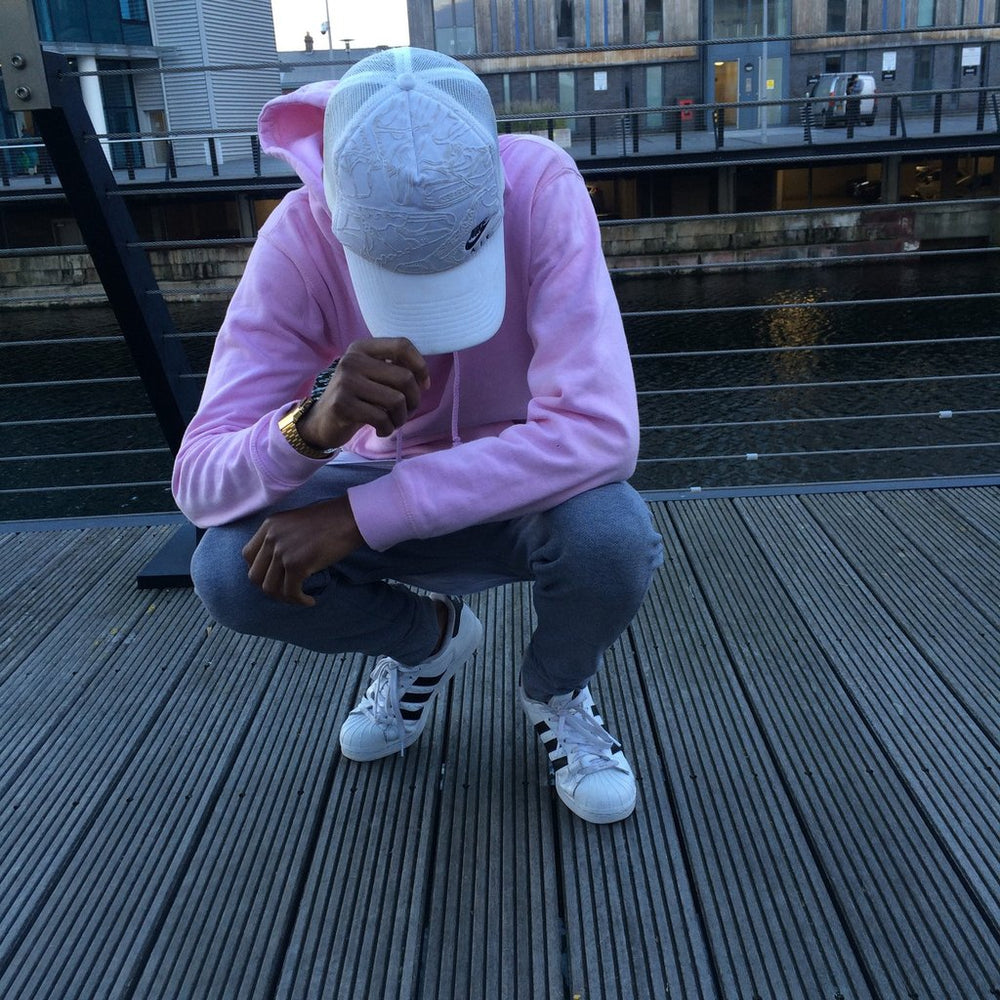 Baby Pink / Candy Floss Pullover hoodie