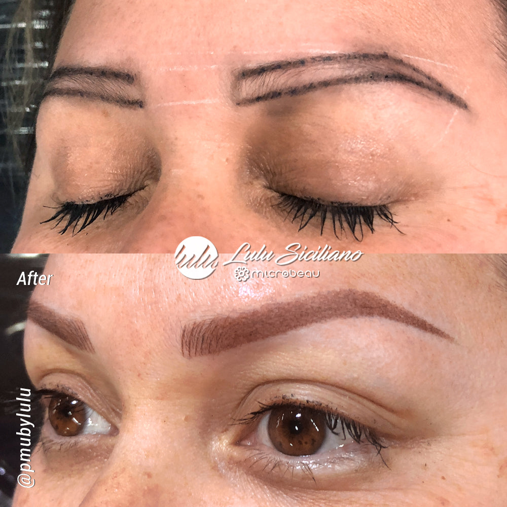 Combined Technique Eyebrows