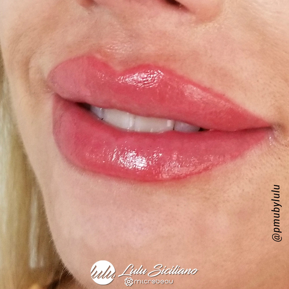 Aquarelle Lip Lulu Siciliano Permanent Makeup Artist In Miami