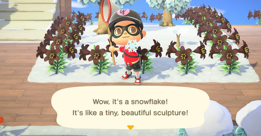 Animal Crossing New Horizons : la nouvelle quête des flocons
