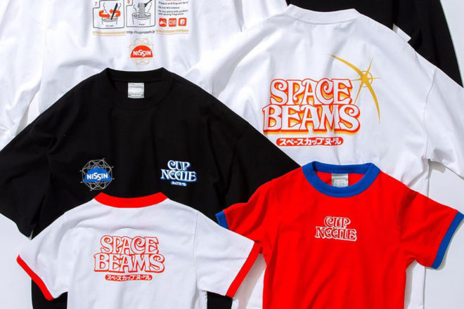 NISSIN Cup Noodles rejoint le concept store BEAMS pour une collab « SPACE BEAMS »