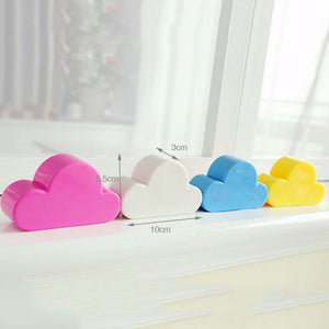 Cloud Shaped Wall Mounted Magnetic Key Holder in Four Colors