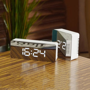 Digital Mirror Alarm Clock
