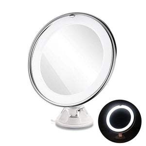 Lighted Vanity Makeup Mirror with Magnification