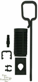 AquaC Remora Hang-On Protein Skimmer w/ Drain Fitting & Cobalt Aquatics MJ1200 Powerhead/Pump