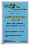 Algae Free Glass Replacement Pad for Piranha/Hammerhead Plus Algae Magnet