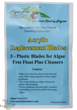 Algae Free Acrylic Replacement Scraper (3 pack)
