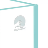 AquaMaxx Long Cuboid Low-Iron Rimless Aquarium - 2.6 Gallon