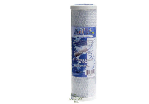 AquaFX 2 Micron Replacement Carbon Block Filter Cartridge
