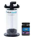 AquaMaxx Fluidized GFO and Carbon Filter Media Reactor w/ AquaMaxx Carbon One