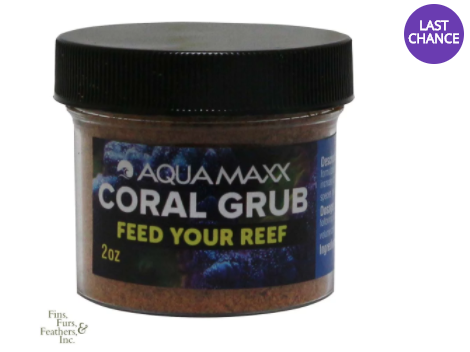 AquaMaxx Coral Grub Powdered Coral Food - 2OZ