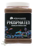 AquaMaxx Phosphate Out Granular Ferric Oxide Filter Media GFO - 1/4 Gallon (1 lb)