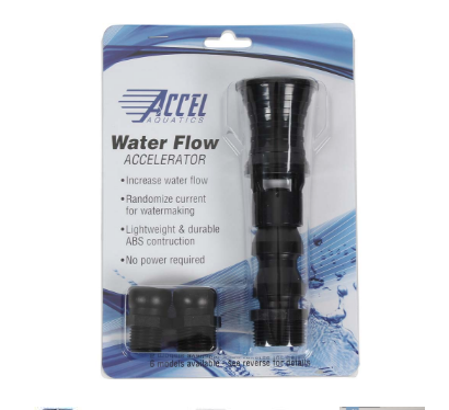 Accel Aquatics Wide Vortex Twist Flow Accelerator - Model VAR