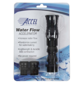 Accel Aquatics Wide Vortex Flow Accelerator - Model VA