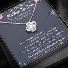Load image into Gallery viewer, The Best Mother-In-Law Knot Necklace