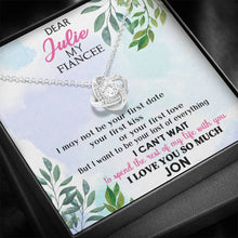 Load image into Gallery viewer, To My Fiancee Necklace Personalized