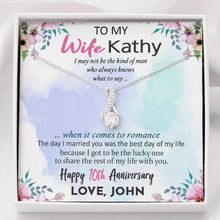 Load image into Gallery viewer, Personalized Anniversary Gift For Wife