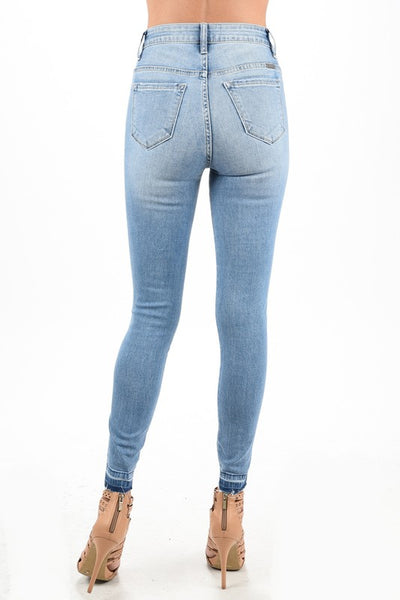 Kancan distress highwaist jeans