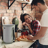 Organko 2 Bokashi Compost Kitchen Waste Bin + FREE Chopping Board  -