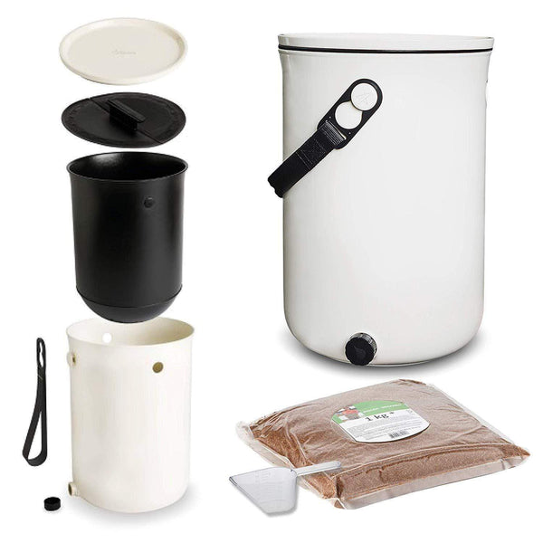 Organko 2 Bokashi Compost Kitchen Waste Value Pack