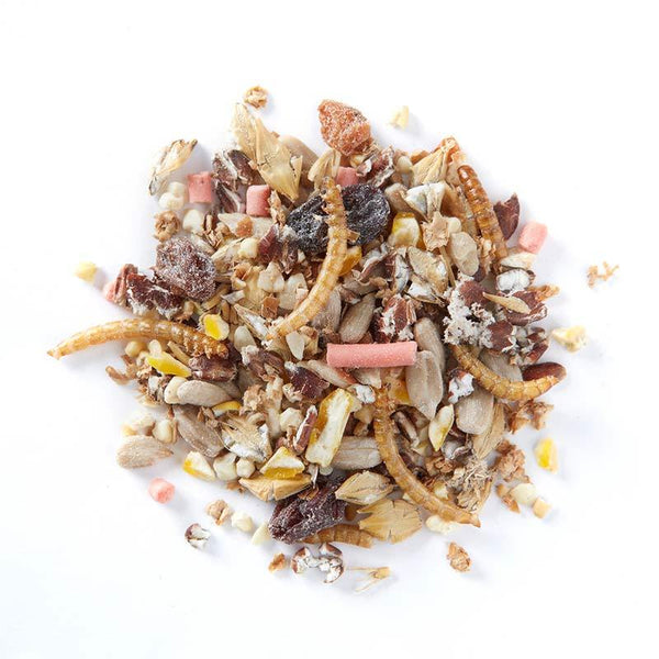 Wiggly Softbill Mix  -  Birdfood