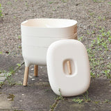 Urbalive Worm Composter From Wiggly Wigglers - 20 Litre Cream | Unit + Starter Pack