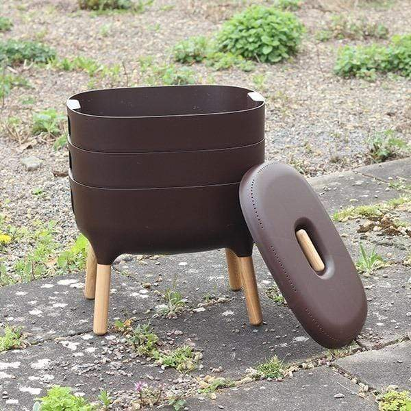 Urbalive Worm Composter From Wiggly Wigglers - 20 Litre Brown | Unit Only  -  Wormeries
