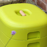 Urbalive Worm Composter Wormery From Wiggly Wigglers - 20 Litre Lime | Unit + Starter Pack