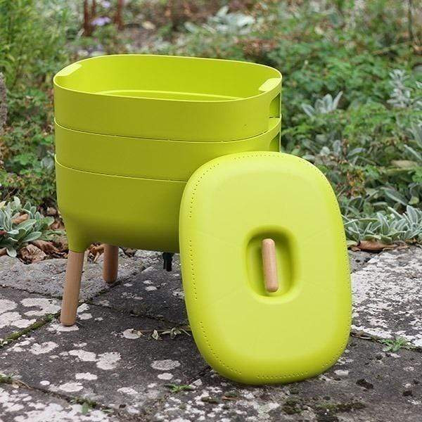 Urbalive Worm Composter From Wiggly Wigglers - 20 Litre Lime | Unit Only  -  Wormeries
