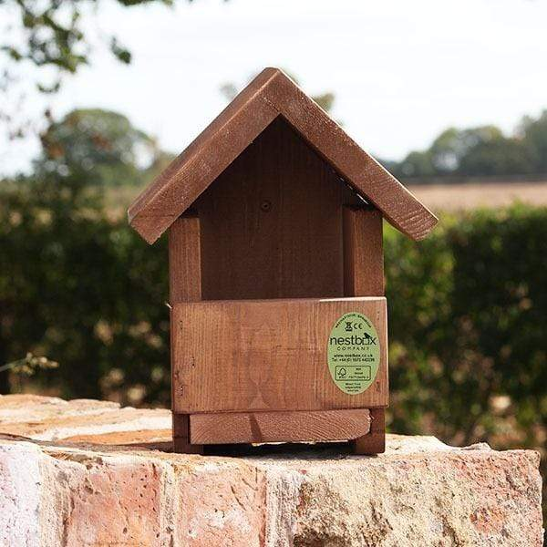 Open Fronted Deluxe or Standard Bird Nest Box Choices and Deals
