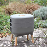 Urbalive Worm Composter From Wiggly Wigglers - 20 Litre Stone | Unit + Starter Pack
