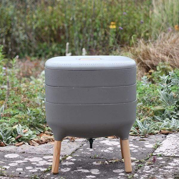 Urbalive Worm Composter From Wiggly Wigglers - 20 Litre Stone | Unit Only  -  Wormeries