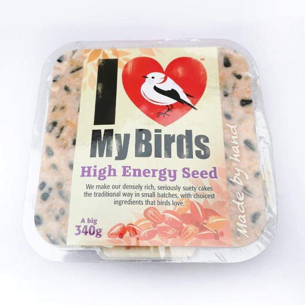 High Energy Seed - I Love My Birds Suet Cake  -