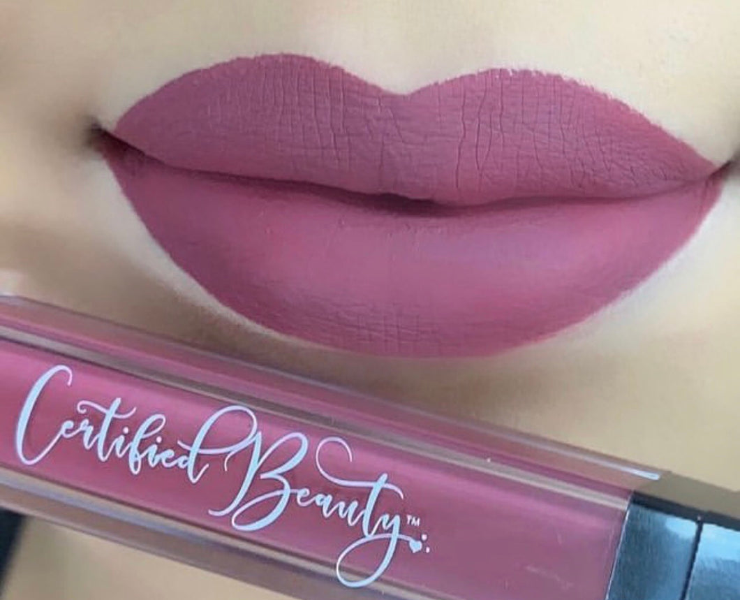 "Matte Liquid Lipstick ""DUSTY ROSE"""