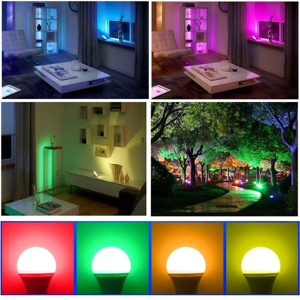 Jass London RGB Dimmable LED Mood Lamp